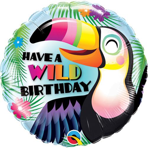 novelty foil balloon - birthday
