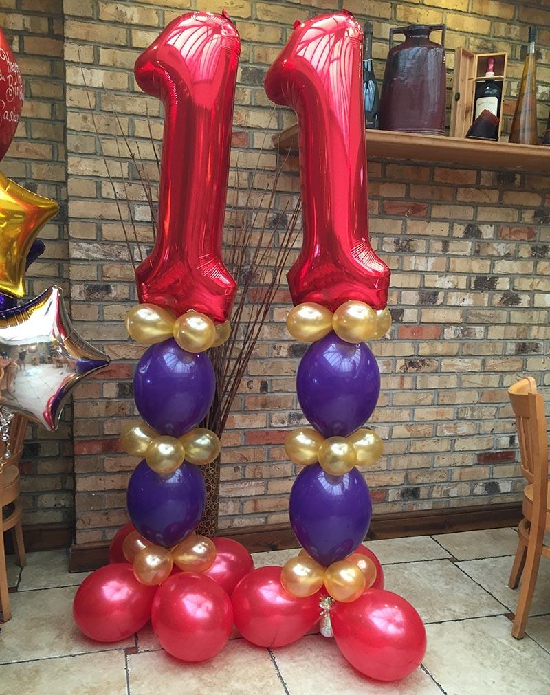 birthday balloon model