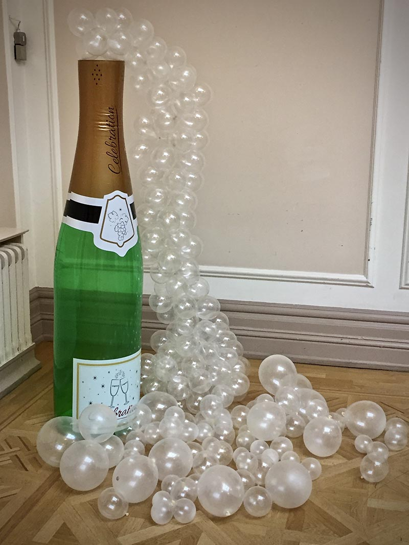 Champagne and bubbles