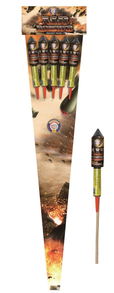 Air Bomber (Rocket 5 Pack)